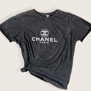 Vintage Chanel T-Shirt Acid
